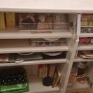【まとめ売り】3ドア 食器棚
