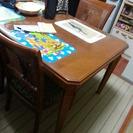 無料 カリモク家具 ダイニングテーブル 5点セット