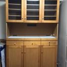 食器棚(スライドボード付き)