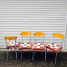 【値下げ】oliver オリバー 椅子4脚セット☆