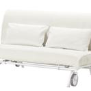 IKEA PS ソファーベット(マットレス、クッション、説明書、組...