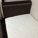 (商談中)使用期間2ヶ月のみ!ニトリシングルベッド。マットレス付き