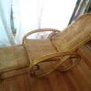 藤椅子☆リクライニングチェア