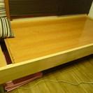 IKEA シングルベッド 腰痛予防 フローリング仕様!