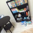 本棚 サイドテーブル セット
