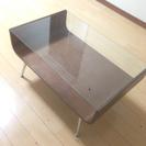 ガラス天板センターテーブル 0円