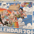 ONEPIECEコミックカレンダー2014