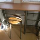 (取引中)カウンターテーブル&チェア2脚セット