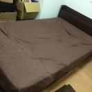 セミダブルベッドとマットレス