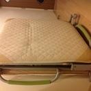 【無料】折りたたみベッド(アテックス社製 中古)