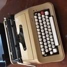 フランス買付けタイプライター