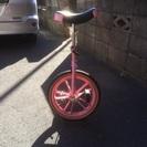 一輪車 16インチ ピンク