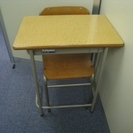 学校の学習机