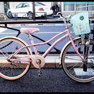 ★リサイクル自転車・中古自転車・少女向け・22インチ・シナモロール...