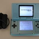 NINTENDO 任天堂 DS 本体とアダプター ヒンジ割れあり