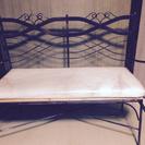 ジャンク  アンティークアイアン椅子