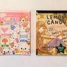 【メモ用紙】 おてがみメモ&LEMON CANDYのメモセット