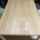 縦90×横90cm 木目のキレイな机です。