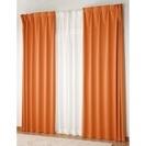遮光オレンジカーテン