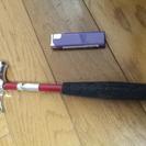 手軽なハンマー DIY工具  小さいけどしっかりしています。ハンズ...