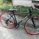 新品同様のクロスバイク自転車を売ります