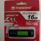 USBメモリ USB3.0 黒 16G スライド型 ほぼ新品