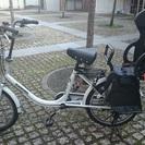 (交渉中)子供乗せ自転車譲ります ...