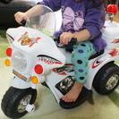 ■■電動パトロールバイク■■ 子供用乗用玩具 中古品(定価2万円以上)