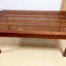 アジアン風 ウッドテーブル センターテーブル