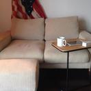 無印良品 ソファーツーシーター オットマン サイドテーブル セット