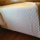 タダであげます。無印シングルベッド