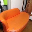 再募集☆オレンジのソファ