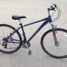 【点検整備済】 アルミフレーム&Fサス付のクロスバイク