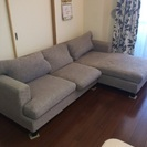 問い合わせ多数につき、本日11時で締切ます!大塚家具で購入のL型ソファー