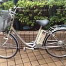 ブリヂストン電動自転車マンガン充電池充電器付