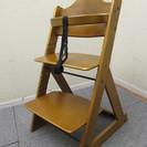 【交渉成立!ありがとうございました】木製 子ども椅子 お子様の成長...