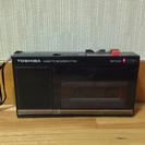 カセットレコーダー TOSHIBA 【完動品】