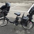 前後子供乗せ付き電動アシスト自転車!