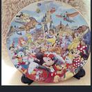 ディズニー・バケーションパッケージの絵皿