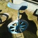 ブリヂストン。20インチ一輪車。スタンドつき。