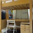 システムベッド(学習机とベッド) - 藤沢市