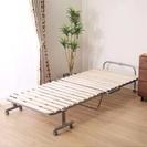 ニトリすのこ式折りたたみベッド