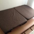 美品/折りたたみベッド