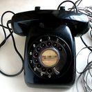 【レトロ】黒電話機