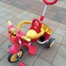 値下げ!アンパンマンの三輪車