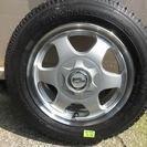 スタッドレスタイヤ YOKOHAMA 155/70R ホイル付き