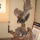 雉の剥製 インテリア 台座付き キジ 置物