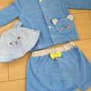 14点セット★新生児〜80㎝男の子用ベビー服