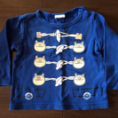 (取引終了)ブタさん長袖Tシャツ☆だまし絵風 ☆80cm