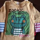 (取引終了)カエルさん☆長袖Tシャツ☆80cm